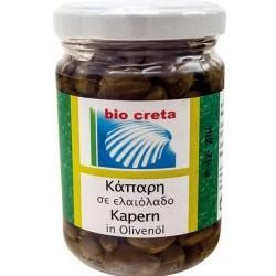 Βιολογική Κάπαρη σε Ελαιόλαδο Bio. 140γρ., Ελληνική, Bio Creta