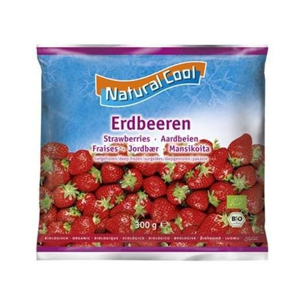 Βιολογικές Φράουλες Kατεψυγμένες Bio 300γρ., Natural Cool
