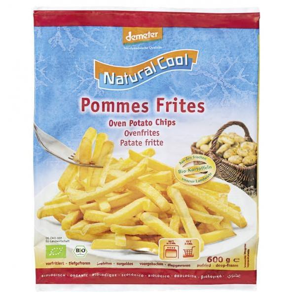 Βιολογικές Πατάτες Τσιπς Κατεψυγμένες Bio 600γρ., Natural Cool
