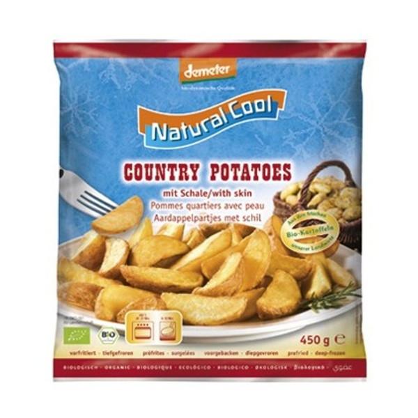 Βιολογικές Πατάτες Country Kατεψυγμένες Bio 450γρ., Natural Cool