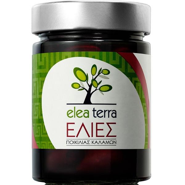 Βιολογικές Ελιές Καλαμών Εκπυρυνωμένες Bio 345γρ., Ελληνικές, Elea Terra