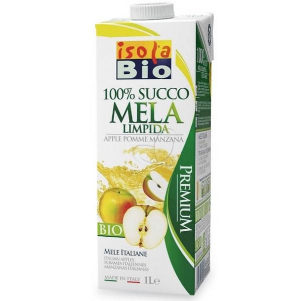 Βιολογικός Χυμός Μήλου Bio 1 lt, Isola Bio