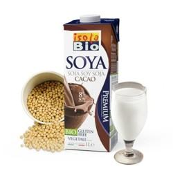 Βιολογικό Ρόφημα Σόγια Σοκολάτα 1lt Bio, Isola Bio