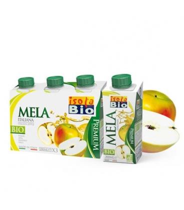 Βιολογικός Χυμός Μήλου με Αγαύη 200ml Bio, Isola Bio