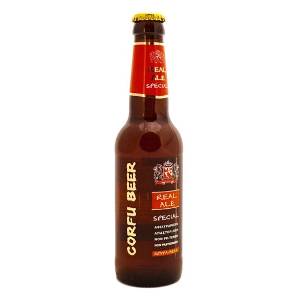 Μπύρα Corfu Real Ale Special 250ml, Ελληνική, Corfu Beer