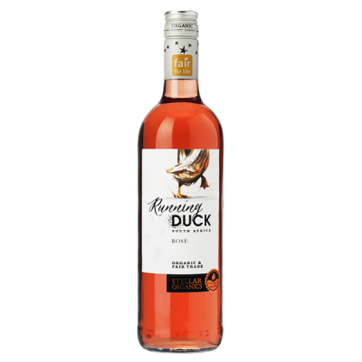 Βιολογικός Ροζέ Οίνος Shiraz Bio 750ml Running Duck, Stellar Winery