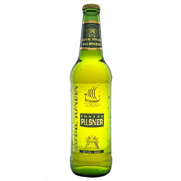 Μπύρα Corfu Royal Ionian Pilsner 500ml, Ελληνική, Corfu Beer