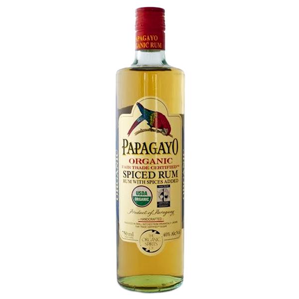 Βιολογικό Ρούμι Spiced Bio 70cl, Papagayo