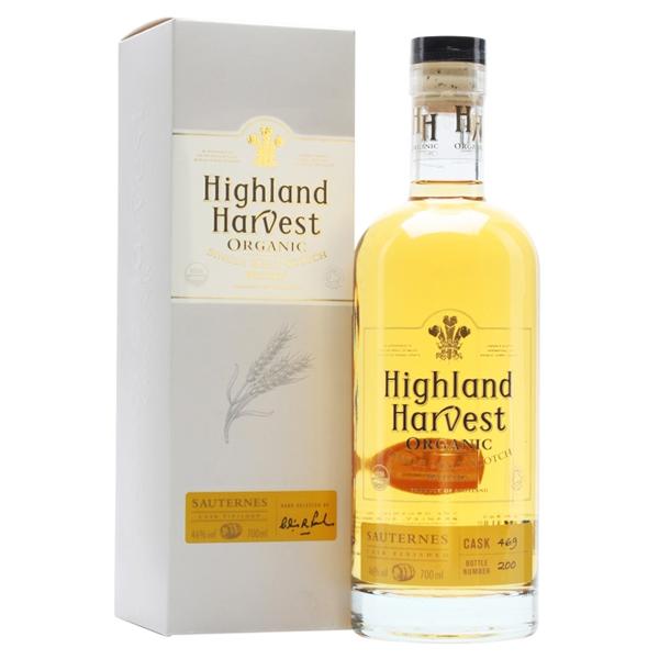 Βιολογικό Oυίσκι Highland Bio 70cl, Harvest