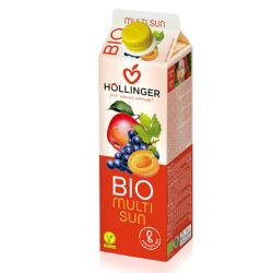 Βιολογικός Χυμός Κοκτέιλ Φρούτων Bio 1 lt., Hollinger