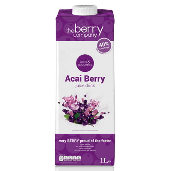 Xυμός Μούρων Ακάι 1 lt, The Berry Company