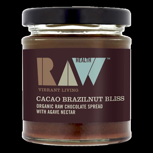 Βιολογικό Άλλειμα Σοκολάτας Cacao Brazilnut Bliss 170γρ., Health Row