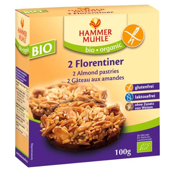 Βιολογικά Μπισκότα Florentiner Bio Χωρίς Γλουτένη 2 τεμάχια 100γρ., Hammermuehle