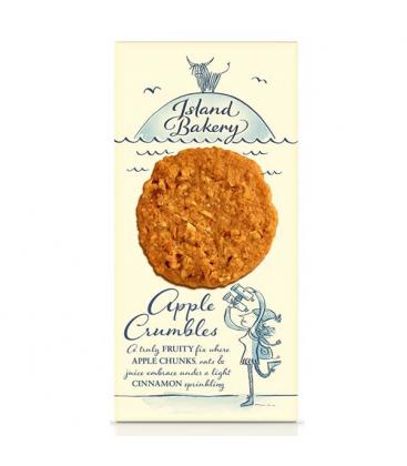 Βιολογικά Μπισκότα με Μήλο & Βρώμη 150γρ., Island Bakery