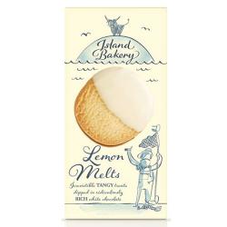Βιολογικά Μπισκότα Λευκή Σοκολάτα & Λεμόνι 150γρ., Island Bakery