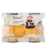 Βιολογικό Επιδόρπιο Γιαουρτιού με Μπανάνα 2x125, Ελληνικό, Βίοτος
