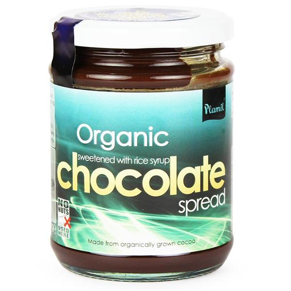Βιολογικό Επάλειμμα Σοκολάτας Χωρίς Ζάχαρη Bio 275γρ., Plamil