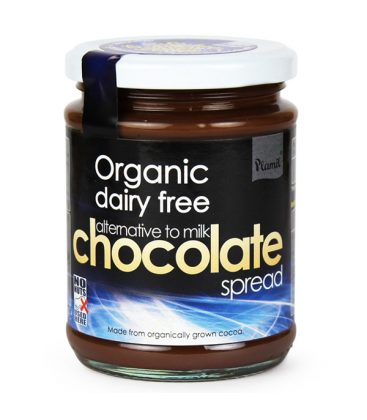 Βιολογικό Επάλειμμα Σοκολάτας (Εναλακτική της Σοκολάτας γάλακτος) 275γρ., Plamil