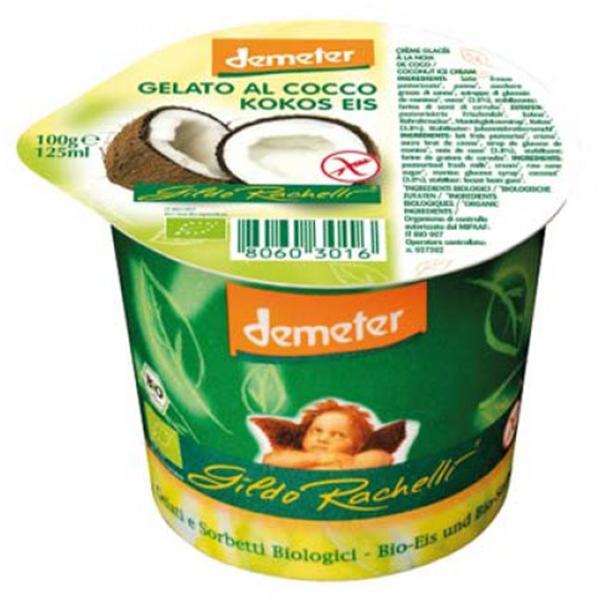 Βιολογικό Παγωτό Καρύδα 125ml Demeter, Gildo Rachelli