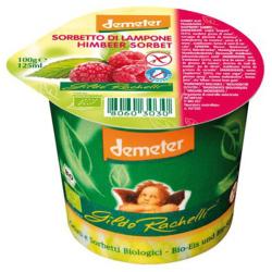 Βιολογικό Παγωτό Σορμπέ Σμέουρο 125ml Demeter, Gildo Rachelli