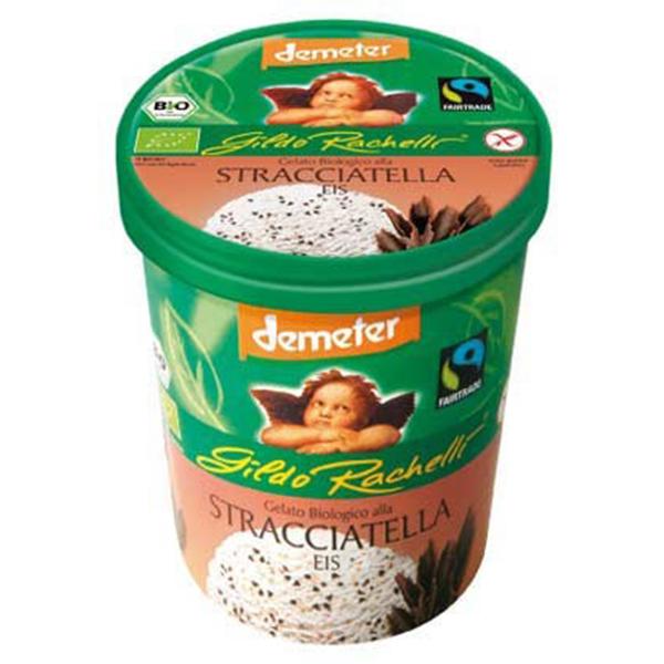 Βιολογικό Παγωτό Στρατσιατέλα 500ml Demeter, Gildo Rachelli