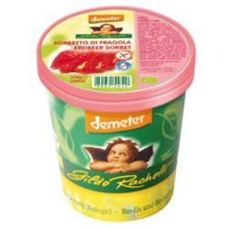 Βιολογικό Παγωτό Σορμπέ Φράουλα 500ml Demeter, Gildo Rachelli