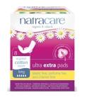 Σερβιέτες Extra με Φτερά για Πολύ Μεγάλη Ροή 8 τεμάχια, Natracare
