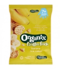 Βιολογικές Ρυζογκοφρέτες με Μπανάνα Bio 50γρ., Organix