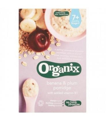 Βιολογική Κρέμα με Μπανάνα & Δαμάσκηνο 200γρ., Organix