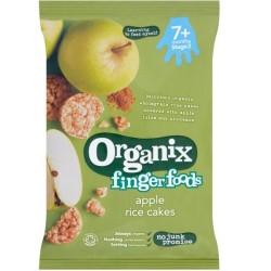 Βιολογικά Ρυζογκοφρετάκια με Μήλο Bio 50γρ., Organix
