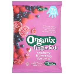 Βιολογικά Μπισκοτάκια Ρυζιού Bio με Βατόμουρα & Blueberry 50γρ., Organix