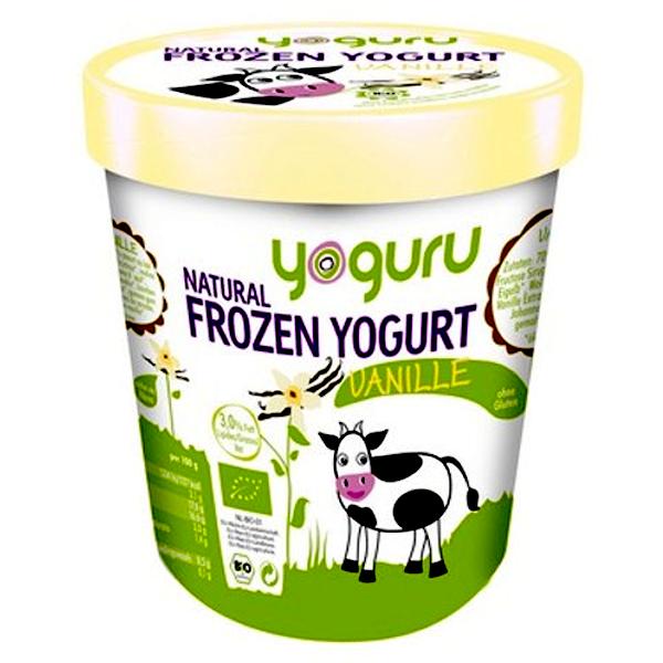 Βιολογικό Παγωμένο Γιαούρτι Βανίλια Bio 200ml, Yoguru