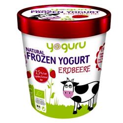 Βιολογικό Παγωμένο Γιαούρτι Φράουλα Bio 200ml, Yoguru