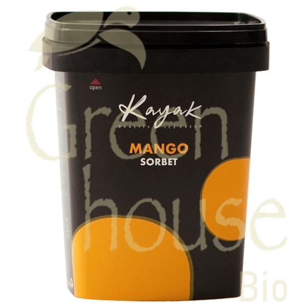 Παγωτό Σορμπέ Μάνγκο 500γρ., Ελληνικό, Kayak
