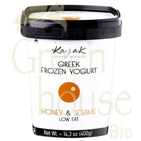 Frozen Yogurt Μέλι & Σουσάμι 500ml, Ελληνικό, Kayak