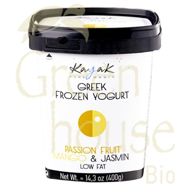 Frozen Yogurt Φρούτα του Πάθους Μάνγκο & Γιασεμί 500ml, Ελληνικό, Kayak