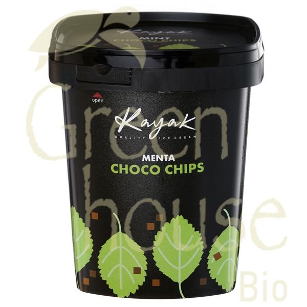 Παγωτό Choco Chip Mέντα Mini Cup 107ml, Ελληνικό, Kayak
