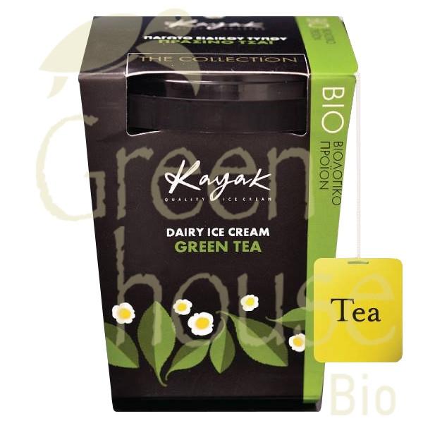 Βιολογικό Παγωτό Πράσινο Τσάι Εarl Grey Bio 500ml, Ελληνικό, Kayak