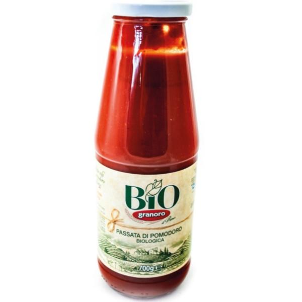 Βιολογική Σάλτσα Τομάτας 700γρ. Bio, Granoro