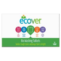 Ταμπλέτες Πλυντηρίου Ρούχων 32 ταμπλέτε, Ecover