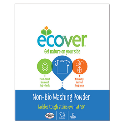 Σκόνη Πλυντηρίου για Λευκά & Χρωματιστά non-bio 1.8kgr, Ecover