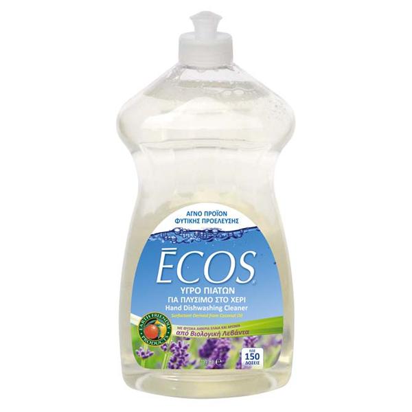 Βιολογικό Υγρό Πιάτων με Bio Λεβάντα 739ml, Ελληνικό, Ecos - Earth Friendly