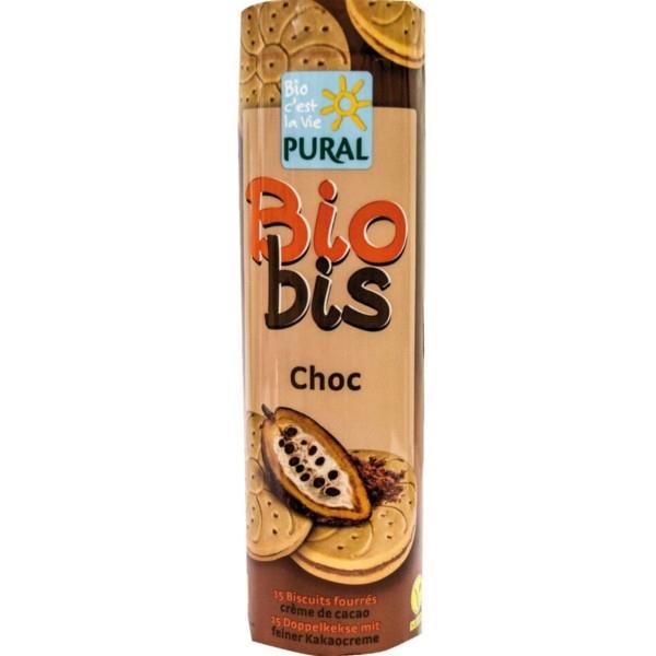 Βιολογικά Μπισκότα Γεμιστά με Σοκολάτα Bio 300γρ., Pural