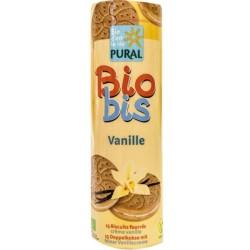 Βιολογικά Μπισκότα Γεμιστά με Βανίλια Bio 300γρ., Pural