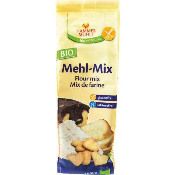 Βιολογικό Μείγμα Aλεύρων Χωρίς Γλουτένη για Κέικ & Ψωμί Bio 1 Κιλό, Hammermuehle