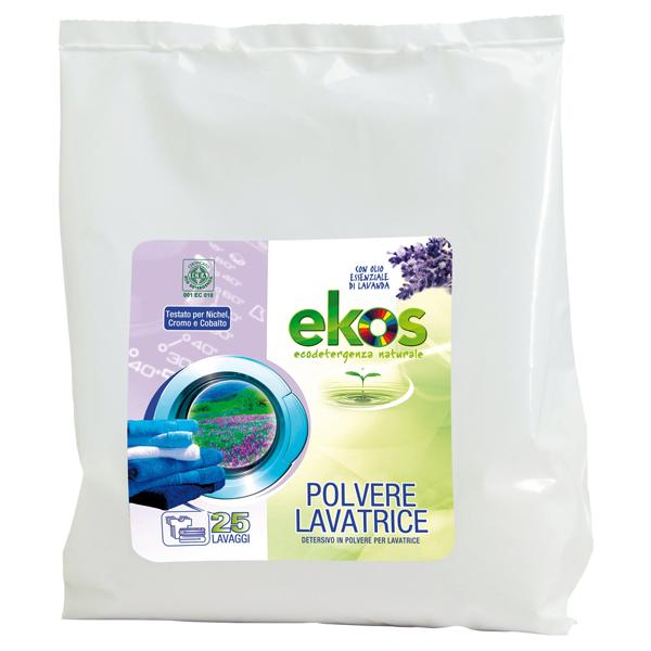 Οικολογική Σκόνη Πλυντηρίου Ρούχων 2 κιλά, Ekos