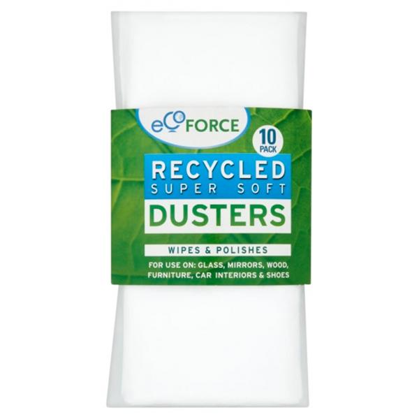 Πανάκια Καθαρισμού Ανακυκλώσιμα 10 τεμάχια, Ecoforce