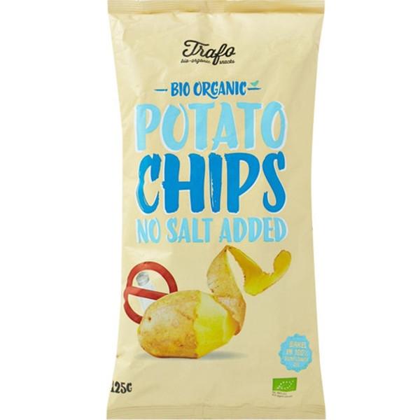 Βιολογικά Τσιπς Πατάτας χωρίς Αλάτι Bio 125γρ. Trafo, Fz Organic Food
