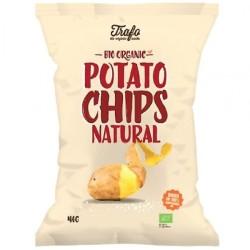 Βιολογικά Τσιπς Φυσική Γευση με Αλάτι mini Bio 40γρ. Trafo, Fz Organic Food