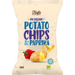 Βιολογικά Τσιπς Πατάτας με Πάπρικα Bio 125γρ. Trafo, Fz Organic Food
